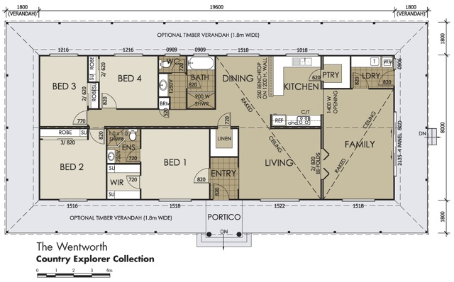 House plans australia house plans for Country home floor plans australia