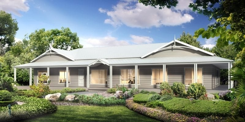 Enjoy the best range of quality modular homes in victoria for Country cottage homes designs australia