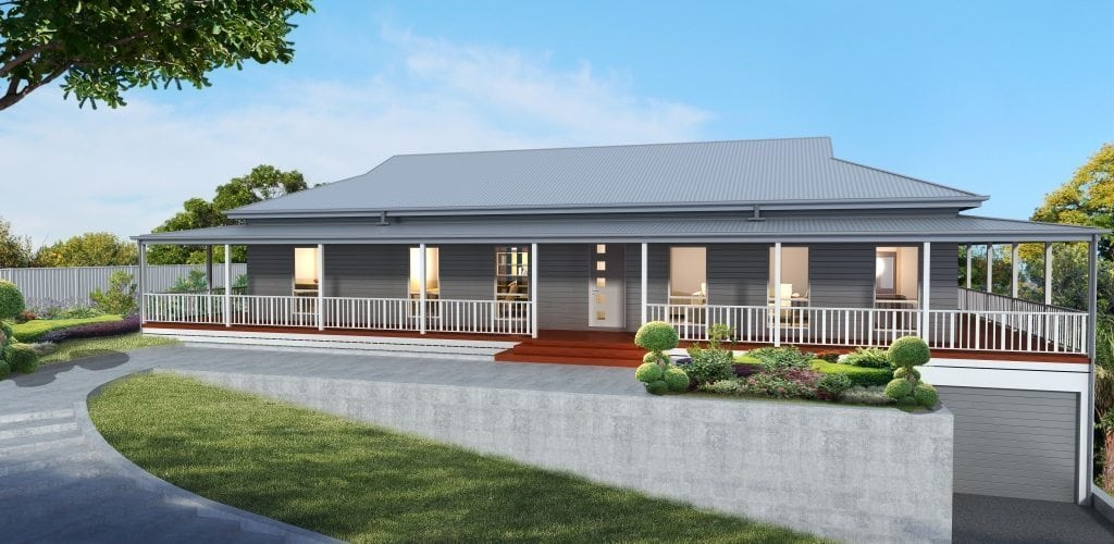 Bronford swanbuild for Australian country home designs
