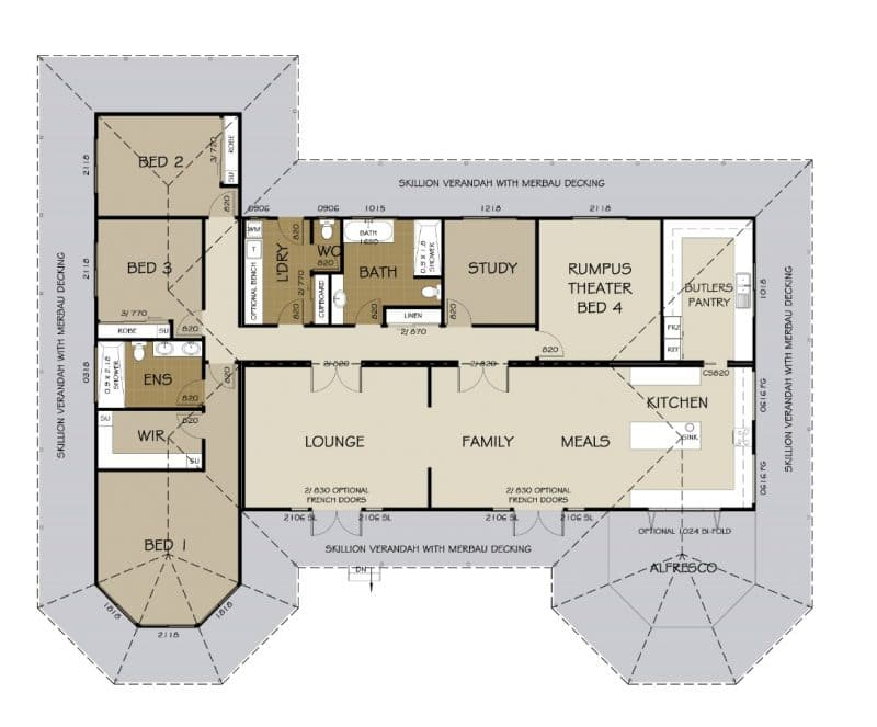 Beechworth Floor Plan