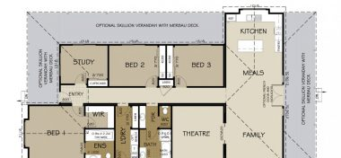 Benalla Floor Plan 1